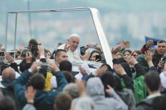 Legjobb képeink Ferenc pápa csíksomlyói látogatásáról