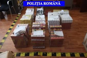 Ezer csomag törvénytelenül beszerzett cigarettát találtak nála, előzetes letartóztatásba helyezték