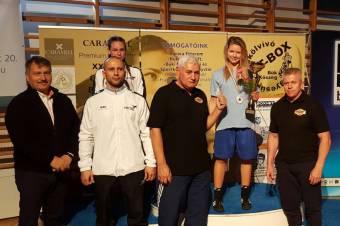 Székely lány aranya a magyar bokszbajnokságban
