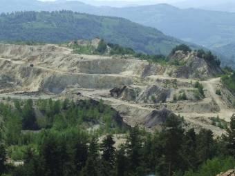 Verespatak a világörökség része: a római kori bánya felkerült az UNESCO védett listájára
