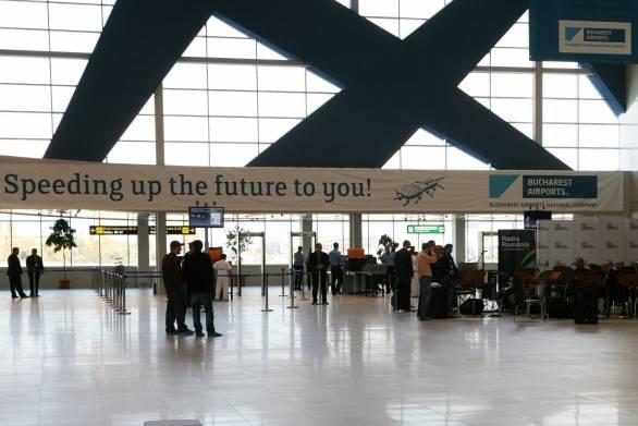 Egymilliárd euróból bővítik újabb terminállal a bukaresti Henri Coandă nemzetközi repülőteret