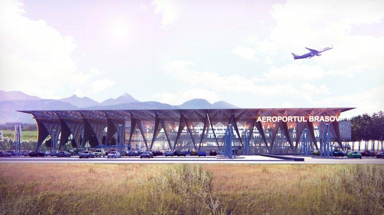 Ilyen lesz a brassói reptér, amelytől a térség gazdaságának fellendülését várják