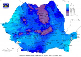 Mínusz 20 fokig is süllyedhet a hőmérő higanyszála a következő két éjszaka Erdélyben
