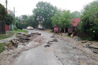 Súlyos károkat okozott az áradás Csíkszentmárton községben
