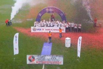 Így ünnepelték az FK Csíkszereda feljutását