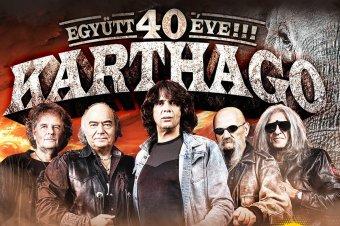 Az idén 40 éves Karthago zenekar is koncertezik adiMANSIONS fesztiválon