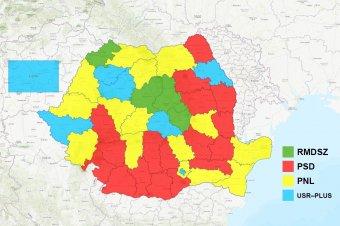 Négy megyében győzött az RMDSZ