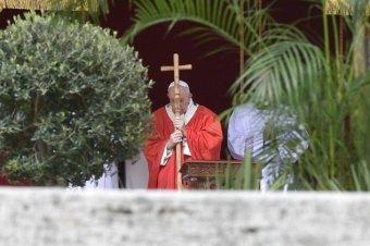 Ferenc pápa: nagyon nehéz időt élünk