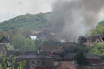 Tűz volt a Farcádi utcában