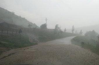 Ezúttal Székelykeresztúr térségére csapott le a vihar