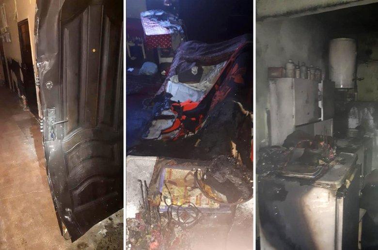 Lakástűzből mentettek ki egy személyt a tűzoltók