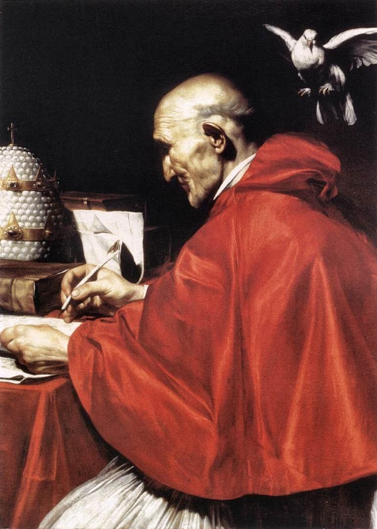 Nagy Szent Gergely, a tudósok, tanítók, tanárok, tanulók, iskolák védőszentje