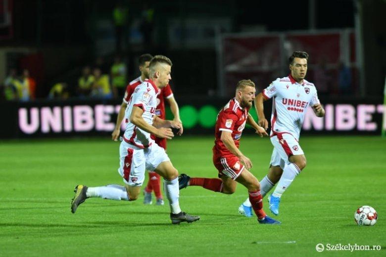 A Dinamo-játékosok tesztjei negatívak, a Sepsi OSK ellen kezdenek