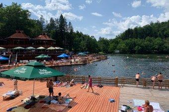 """""""Természetes szendvics"""" a szovátai Medve-tó egy új kutatás szerint"""