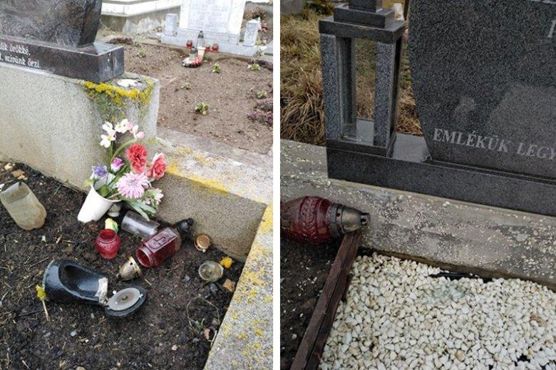 Feldúlva találták a sírhelyeket