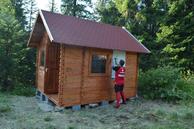 Négy újabb menedékházat építettek Hargita megyében