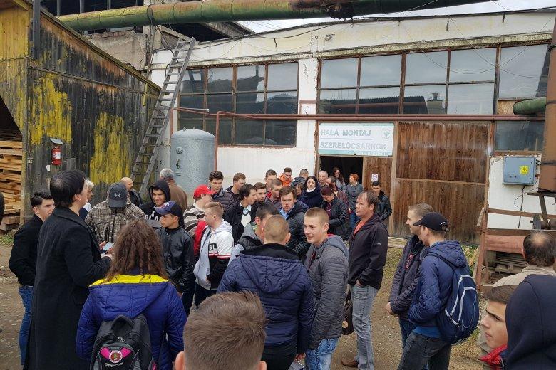 Szakiskolások versenyeztek Gyergyószentmiklóson a Szakmák hétvégéjén