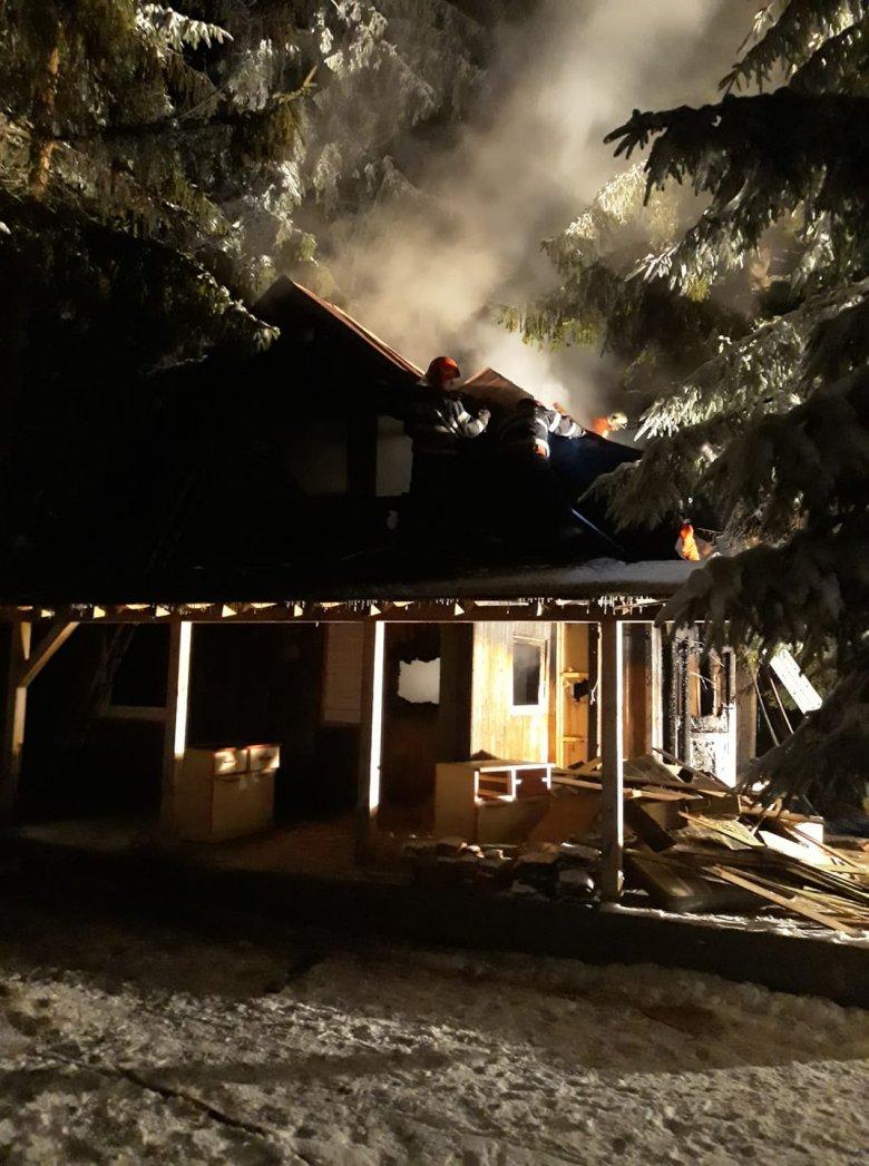 Tűz ütött ki egy hétvégi háznál