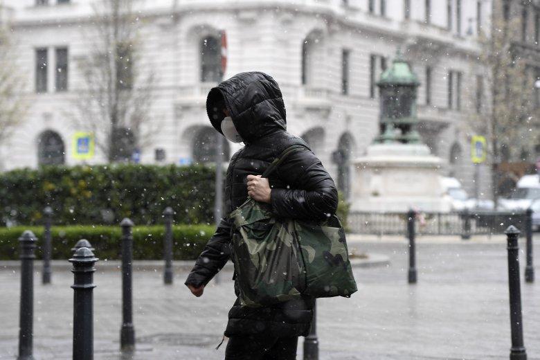 Csapadékos, szeles hétvége áll előttünk, szinte mindenütt fagypont alá csökken a hőmérséklet