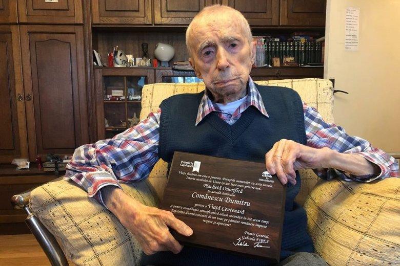 Bukaresti a világ legidősebb férfija