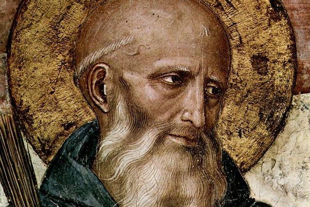 Szent Benedek, a nyugati szerzetesség atyja