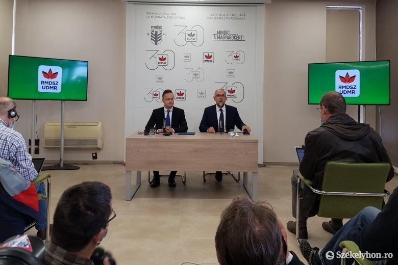 Szijjártó: Magyarország folytatni kívánja erdélyi gazdaságfejlesztési programját