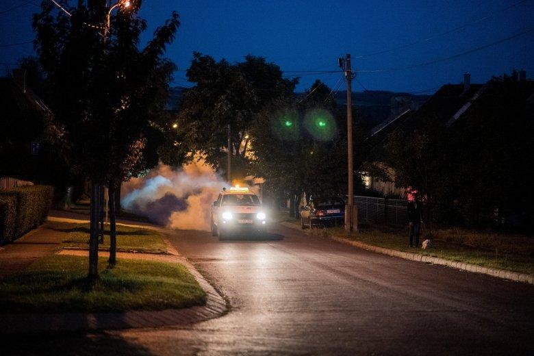 Másodszor is halasztották a szúnyogirtást, ezúttal köd miatt