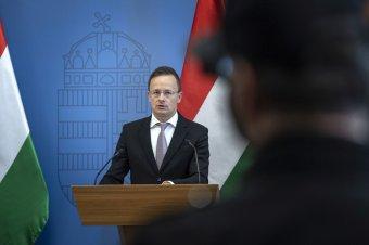 Gyalázatnak nevezte Brüsszel döntését a Kárpátaljára EBESZ-missziót szorgalmazó Szijjártó Péter