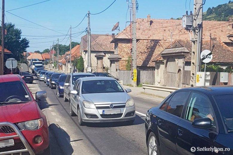 Frontális ütközés Máréfalván – frissítve
