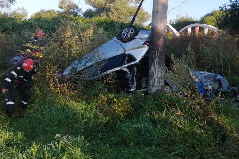 Fiatal sofőr vesztette életét a csütörtök reggeli felsőboldogfalvi balesetben
