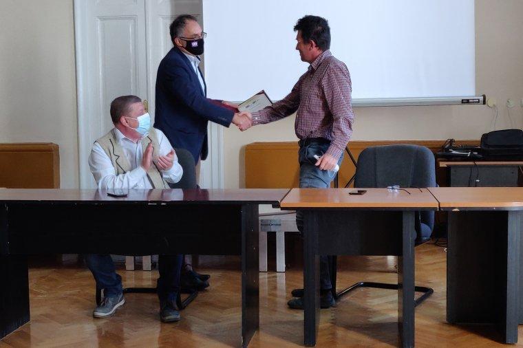 Pro Urbe díjat kapott Szőke Domokos, Csíkszereda leköszönő alpolgármestere