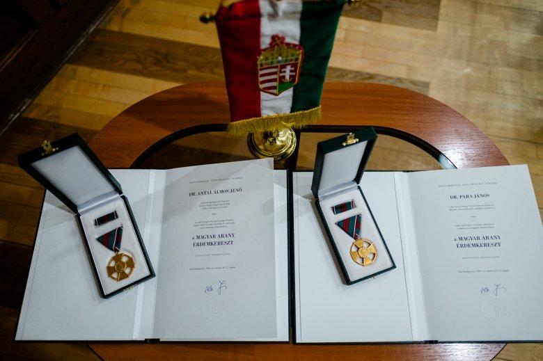 Magyar állami kitüntetés két sepsiszentgyörgyi orvosnak