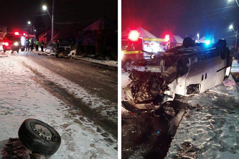 Felborult egy autó, egy utas életét vesztette
