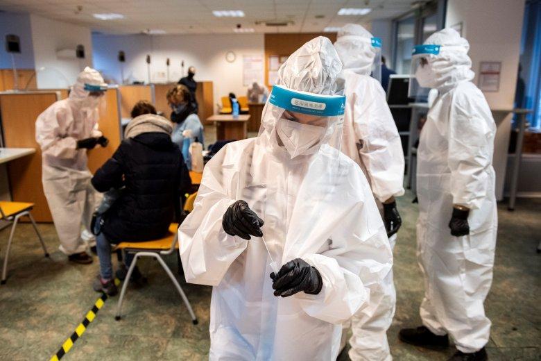 Hatezer közelében az újonnan azonosított fertőzöttek száma