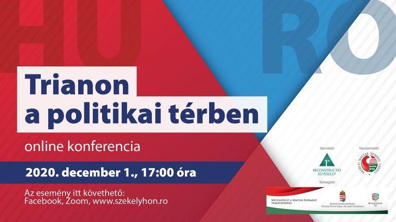 Online konferencia: Trianon a politikai térben