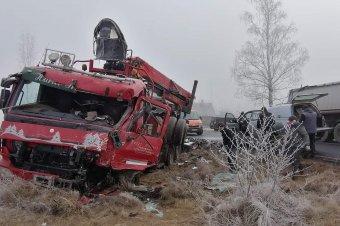 Halálos kamionbaleset Borzontnál