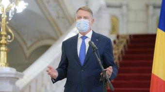 Először üzent Klaus Iohannis március 15-én a romániai magyaroknak