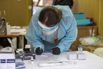 A tesztek és az új esetek száma csökkent, az elhalálozásoké növekedett
