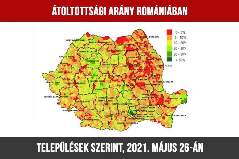 Megtévesztő volt a csíki oltásláz – megvannak a településekre bontott átoltottsági adatok