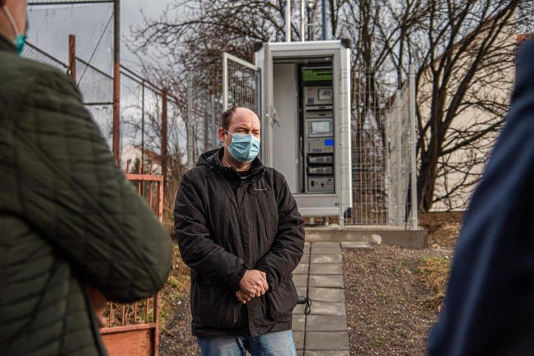 Levegőminőséget mérő állomást helyeztek üzembe Csíkszeredában