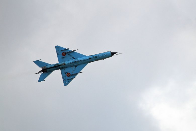 Lezuhant egy vadászrepülőgép Maros megyében