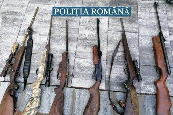 Fegyverarzenált találtak négy háromszéki gyanúsítottnál</h2>