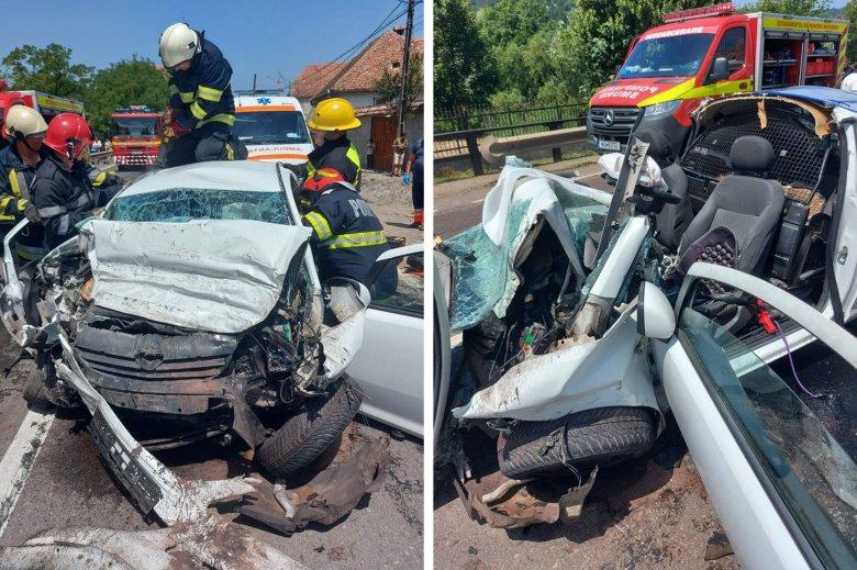 Halálos közúti baleset Szászkézden