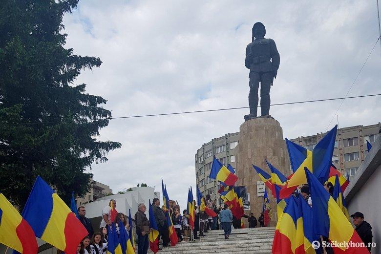 A helyi románok nem értették, mit ünnepelnek nemzettársaik Sepsiszentgyörgyön