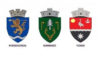 Hivatalosította a kormány Nyárádszereda, Kommandó és Tusnád címereit