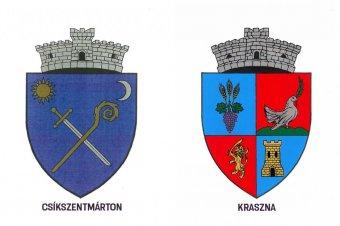 Csíkszentmárton és Kraszna címereit is elfogadta a kormány