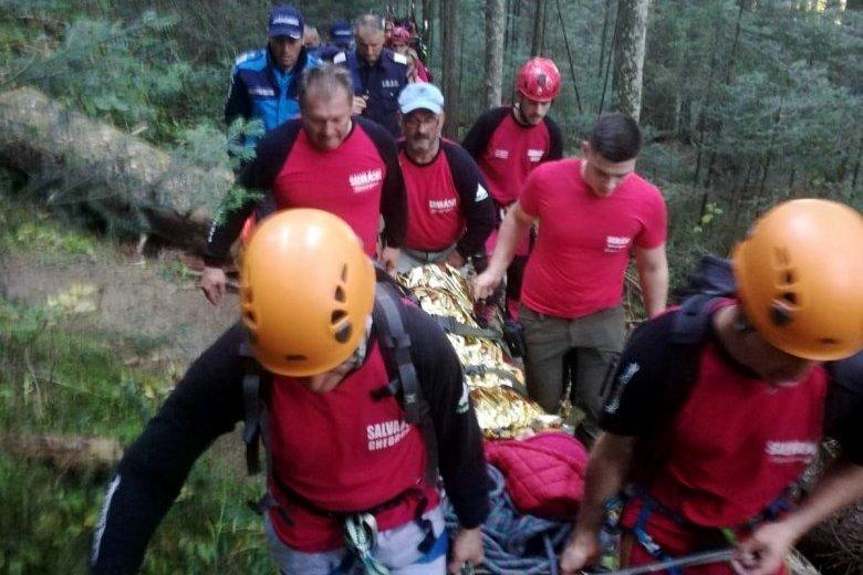 Hegyimentő-akció révén jutott el a mentőautóig egy fiatal túrázó