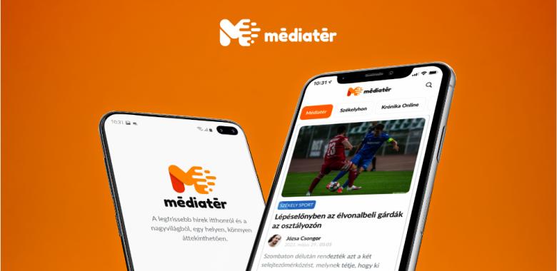Megjelent a Médiatér applikációja