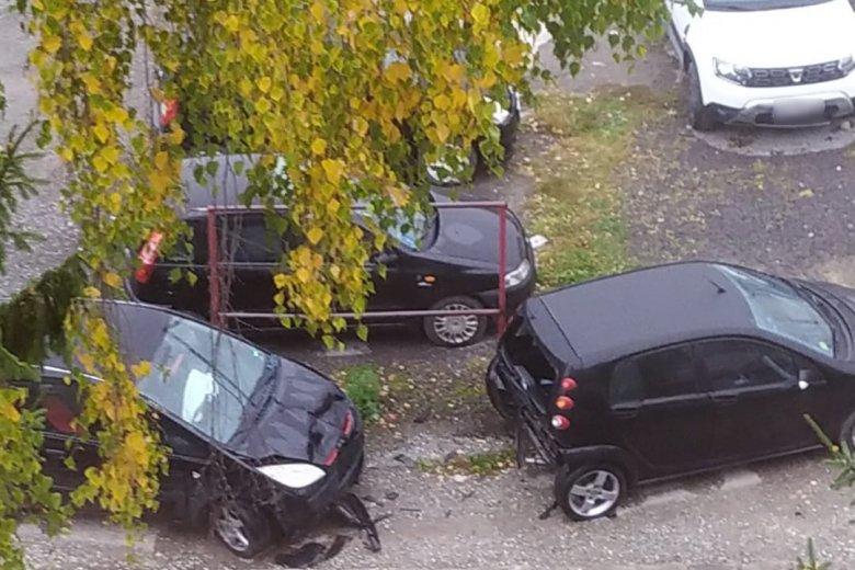 Három parkoló autót rongált meg egy ittas sofőr