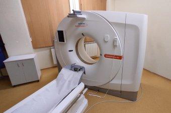 Már a gyergyószentmiklósi kórházban is végeznek CT-vizsgálatot